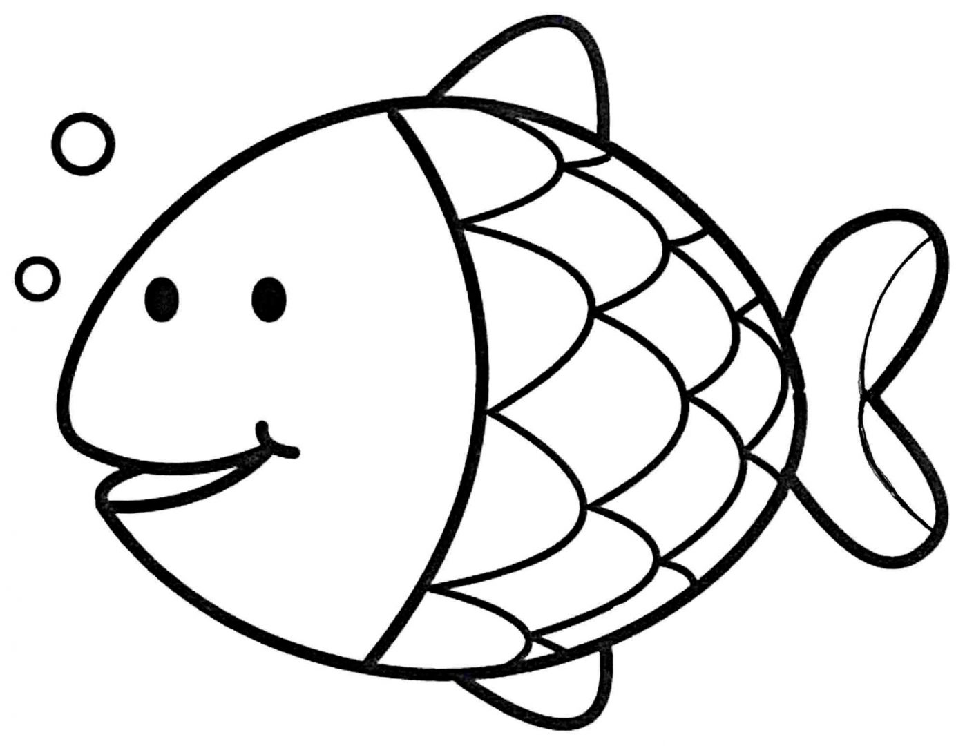 Colouring Pages For Early Years : Galeria de imagenes: Dibujos de peces