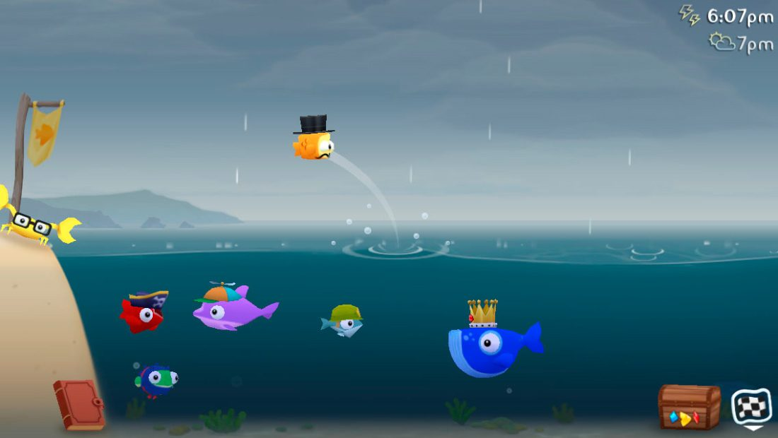 Fish Out Of Water! para iOS