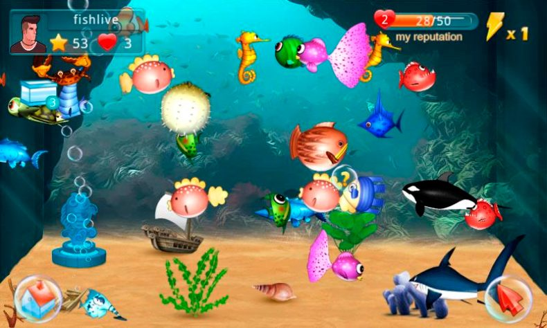 peces Fish Live para Android